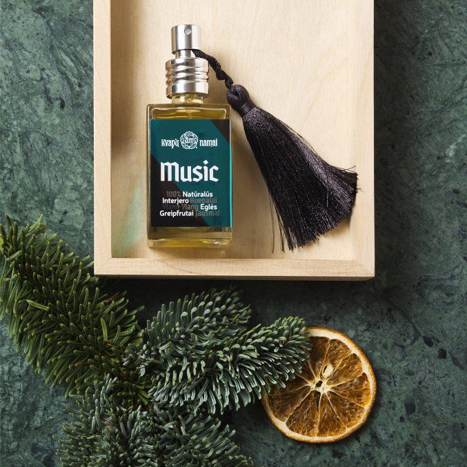 Natural Interior Fragrance MUSIC