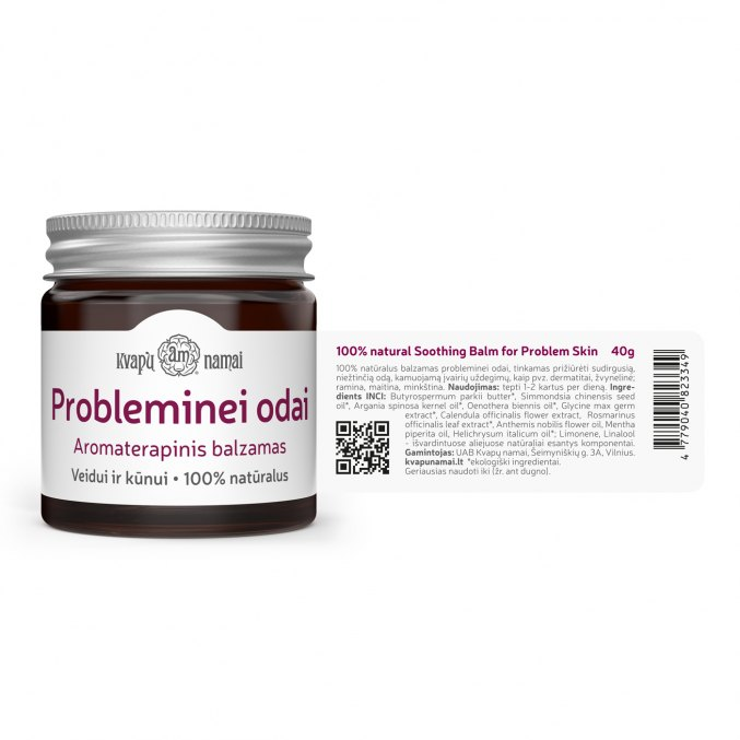 Natural soothing balm for PROBLEM SKIN