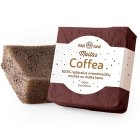 Natural raw shea butter scrub soap with coffee COFFEA