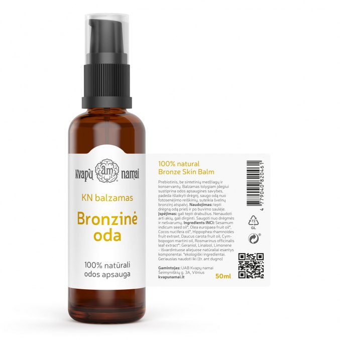 BRONZE SKIN face & body oil